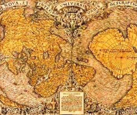 Harta lui Piri Reis din 1513 n-are altă explicație decât originea extraterestră