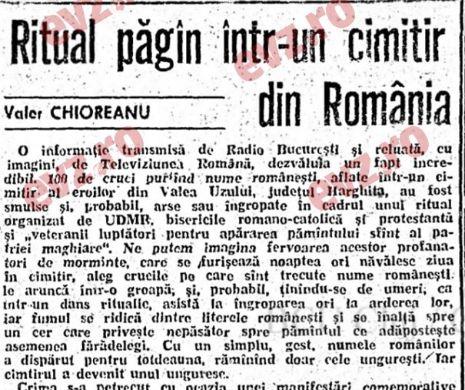Ambasadorul României în Rusia: În Valea Uzului s-a mai încercat ștergerea urmelor eroilor români.
