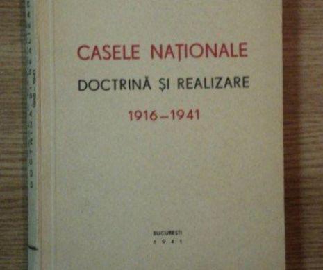 Raportul de activitate al CASELOR NAȚIONALE prezentat în mai 1921. Un DISCURS al lui ȚIȚEICA