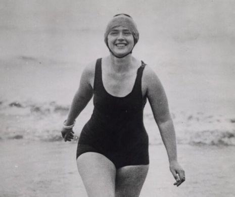 Primul ceas care a traversat înot Canalul Mânecii la gâtul lui Mercedes Gleitze