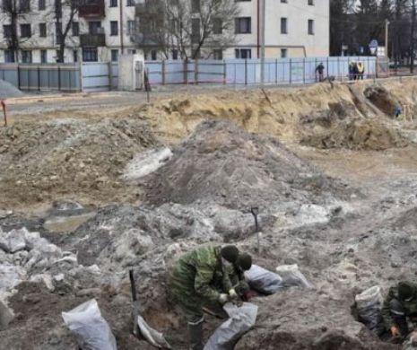 Rămășițele pământești a sute de evrei, găsite într-o groapă comună în Belarus