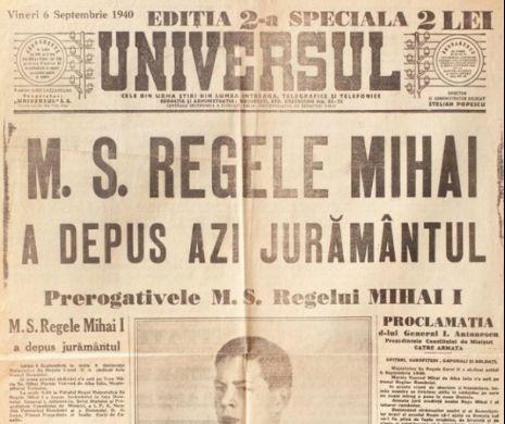 Jurământul Majestății Sale Mihai I al României