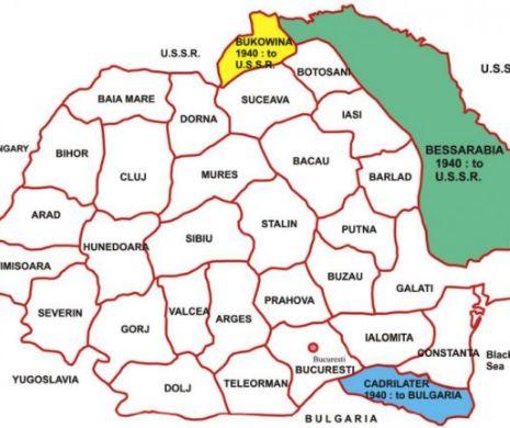 Concediu în regiunea Stalin. Reorganizarea administrativă a României