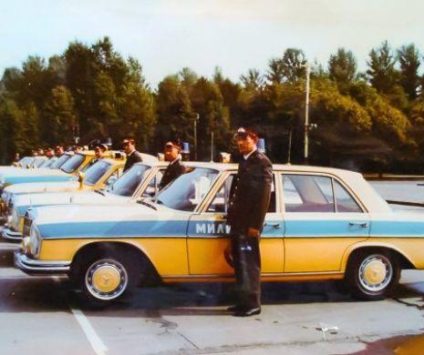 Cum a ajuns Miliția sovietică să aibă limuzine străine
