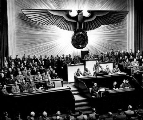 Discursul lui Hitler ținut în aprilie 1939 în Reichstag și reacțiile presei internaționale
