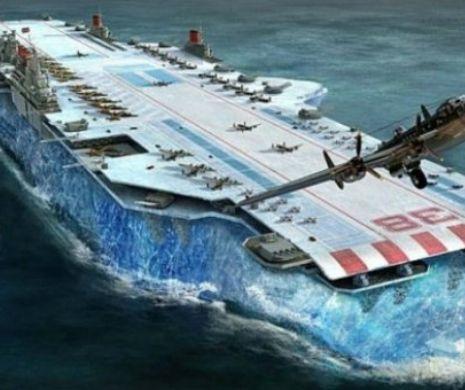 Portavionul de gheaţă al lui Churchill