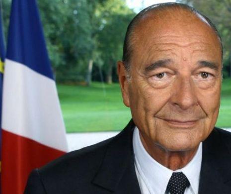 Chirac, înhumat alături de Laurence, fiica al cărei destin a fost drama vieţii lui (VIDEO)