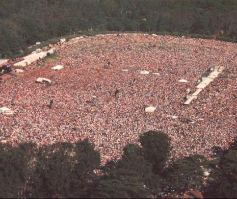 Woodstock nu a fost cel mai mare festival rock din istorie