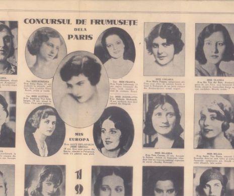 Miss-ele EUROPEI în 1930. România pe locul doi FOTO