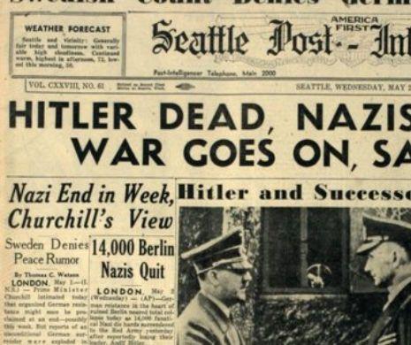 """Testamentul lui Hitler: """"Tot ceea ce am revine partidului"""""""