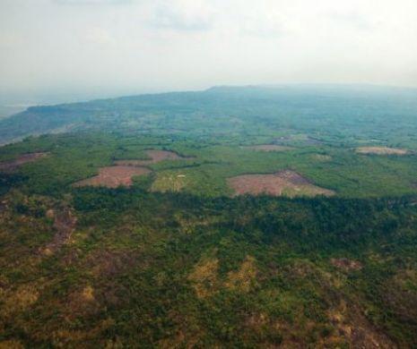 Una dintre capitalele imperiului Khmer, confirmată de arheologi sub jungla cambodgiană