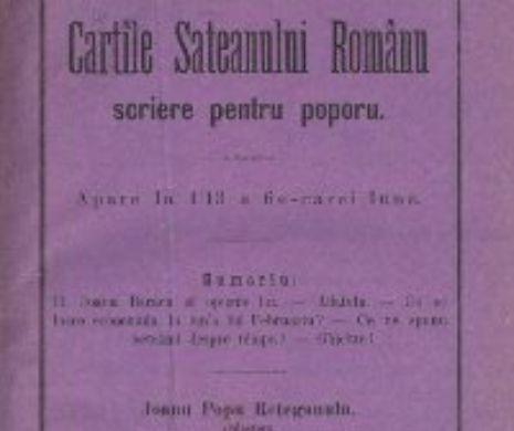 Muierile să vadă de furcă și de fus! Cărțile Săteanului Român de la 1886
