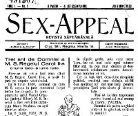 Scopul revistei SEX-APPEL