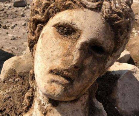 În centrul Romei, Bachus a scos capul din niște săpături!