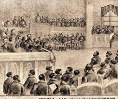 Decretul prin care CUZA-VODĂ i-a trimis pe CÂNTĂREŢII bisericeşti să studieze la CONSERVATOR