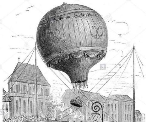 Aromânii din Săracu dau greș cu balonul cu aer cald la 1803. Chir Pahomie are o cruntă dezamăgire. Voia să fie noul Icar