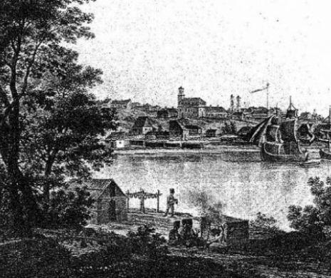 Un francez pe Dunărea românească la 184o