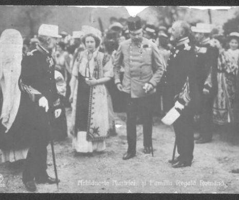 Vizita arhiducelui FRANZ FERDINAND la PELEȘ nu a fost umbrită de EXPULZAREA lui IORGA din BUCOVINA