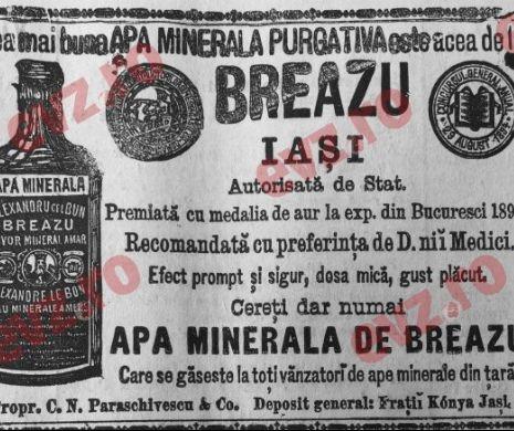 Apa minerală purgativă. Recomandată de medici!