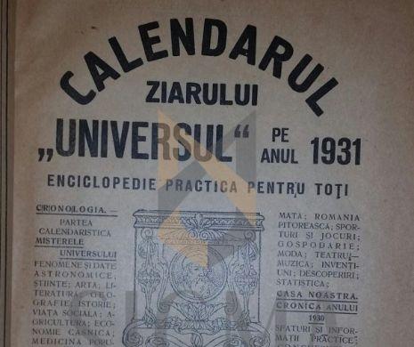 Problema BUGETULUI României în IANUARIE 1931
