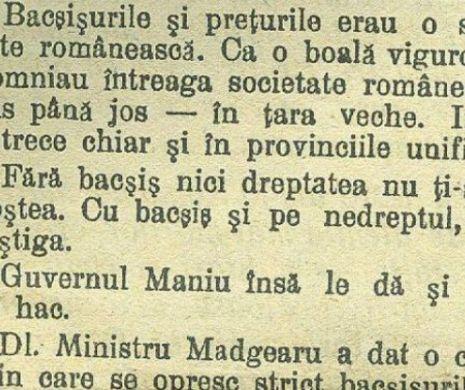 MITA la saşi şi românii din TRANSILVANIA la 1919