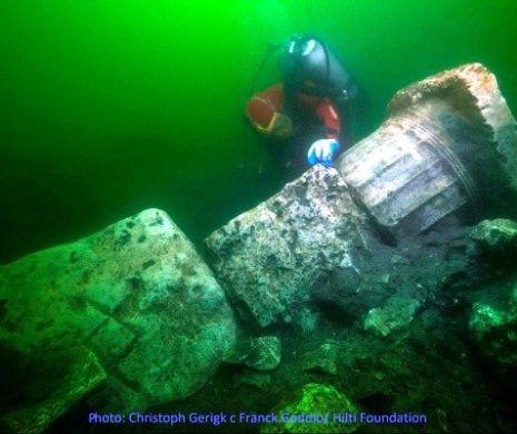 Templul de sub ape, descoperit la Heracleion