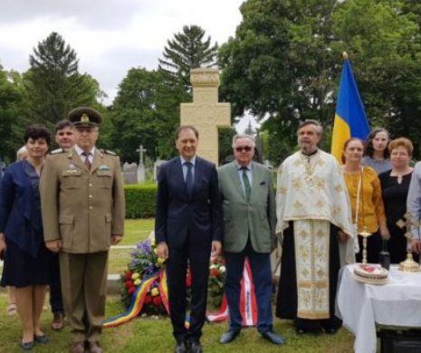 Eroii români, comemorați la Cimitirul Central din Viena