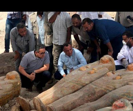 Descoperiri miraculoase într-o ascunzătoare imensă, în Egipt (VIDEO)
