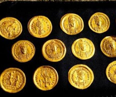 O comoară de monede bizantine din secolul al V-lea, descoperită în Bulgaria