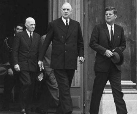 Generalul de Gaulle atacă dolarul american