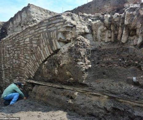 Un tunel secret aztec, din timpul Împăratului Montezuma I, descoperit în Mexic