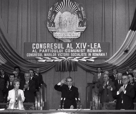 """Ultimul congres al lui Ceaușescu, văzut de Dumnezeu. """"Îl bântuia premoniţia morţii şi a dezastrului?"""" De câte ori s-au ridicat aplaudacii în timpul discursului """"Marelui Cârmaci"""""""