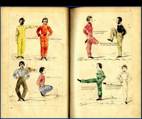 Crăcitura înainte, capra popii sau maimuțica. Exerciții din manualul de gimnastică