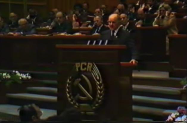 Gest fără precedent împotriva lui Ceaușescu, la Congresul al XII-lea al PCR (VIDEO)