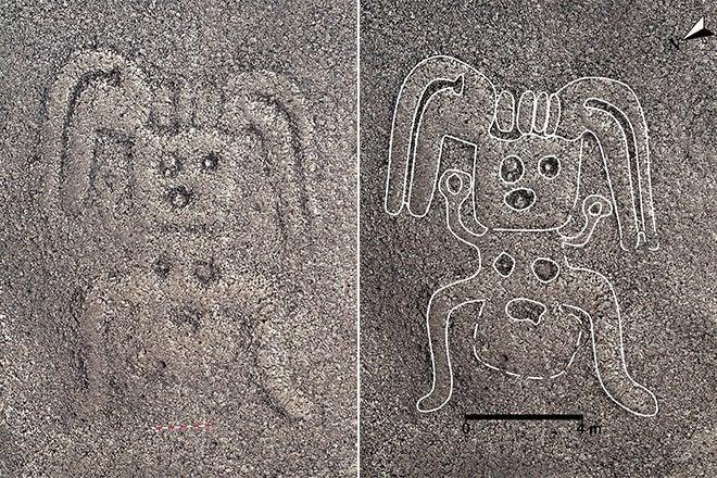 """Noi desene misterioase, """"Linii Nazca"""", descoperite în Peru"""