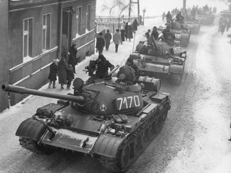 Trauma poloneză: Legea Marţială din 13 decembrie 1981