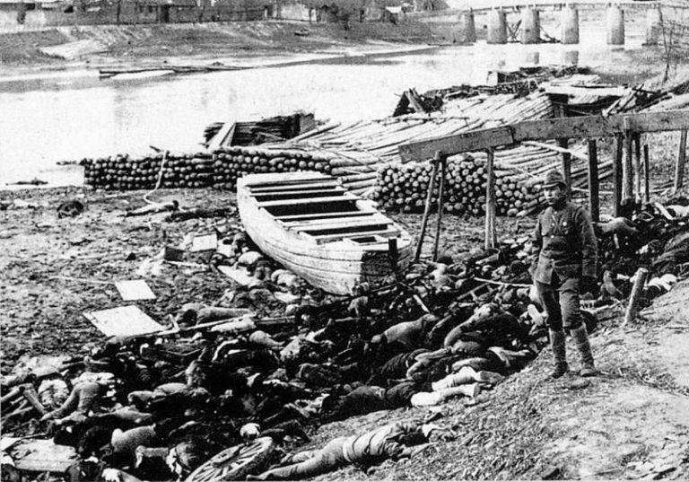 Oribilele crime japoneze de la Nanjing