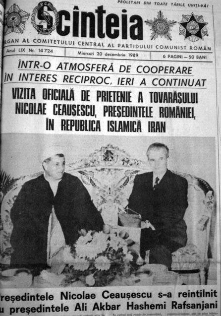 ScanteiaIranCeausescu