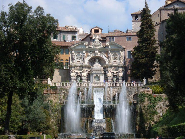 Destinația istorică de weekend: Villa d'Este din Tivoli