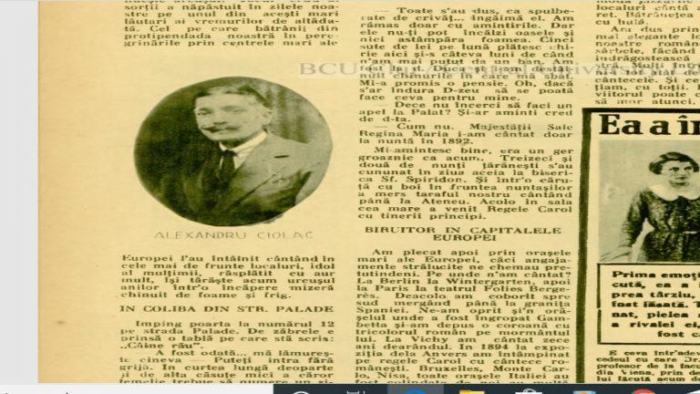 Alexandru Ciolac, lăutarul care a cântat la nunta Regelui Ferdinand cu Regina Maria, face revelionul în sărăcie lucie