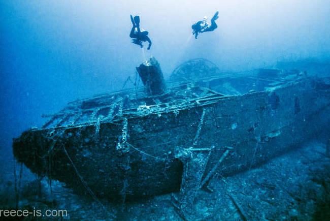 Corabie naufragiată în epoca romană, descoperită în largul insulei Kefalonia