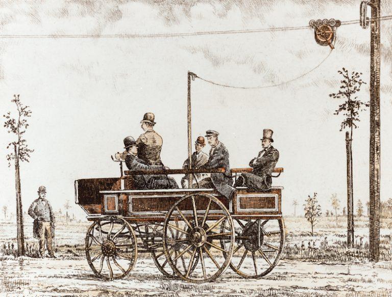 Elektromote, primul troleibuz din lume, care a speriat Berlinul