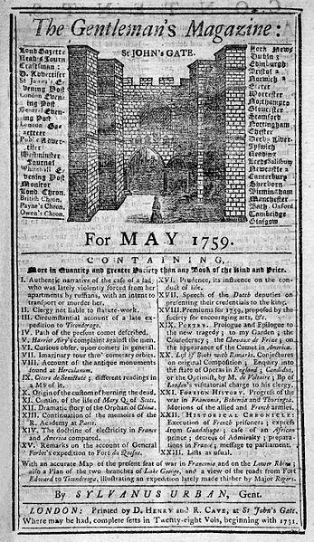 Prima revistă generalistă din lume ar fi împlinit luna aceasta 289 de ani