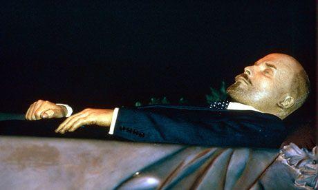 Ultima poză cu Lenin în viață
