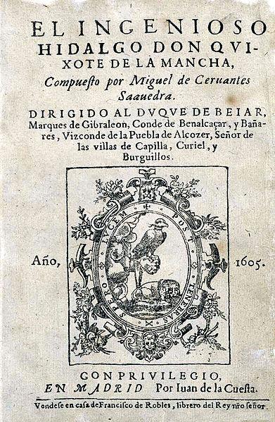 Don Quijote i-a marcat cariera, dar financiar Cervantes nu a câștigat mai nimic de pe urma sa