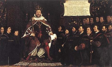 Henric al VIII-lea devine şeful Bisericii Anglicane ...