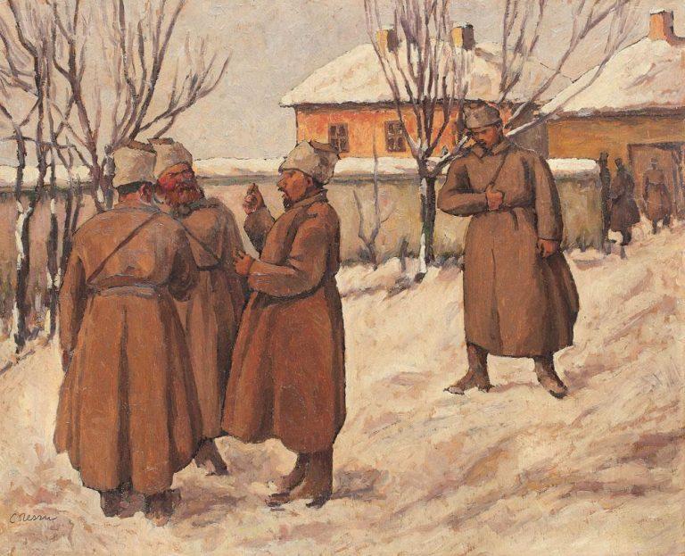 Pictorul războiului de întregire a neamului românesc se trăgea dintr-o familie de aromâni
