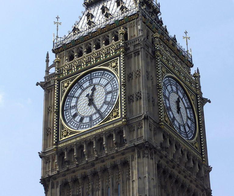 După zeci de ani de la încheierea războiului, daunele provocate de bombe celebrului Big Ben sunt descoperite abia acum