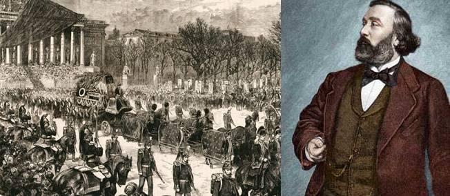 Nemuritorul Gambetta, primul ateu donator de moaşte republicane