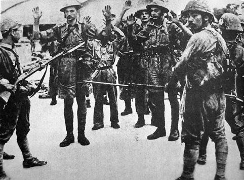 Cea mai mare capitulare a unor trupe aflate sub comandă britanică din istorie